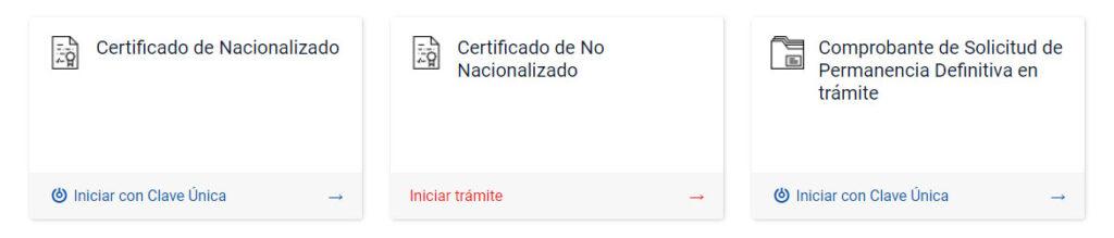 Certificado de Nacionalizado